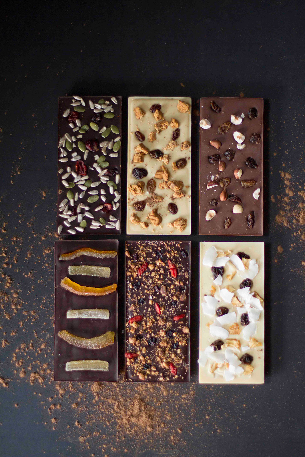 Tablettes chocolat